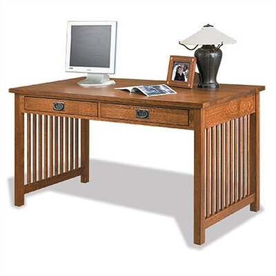 Craftsman Home Office Writing Desk with 2 Drawer Product Picture 18