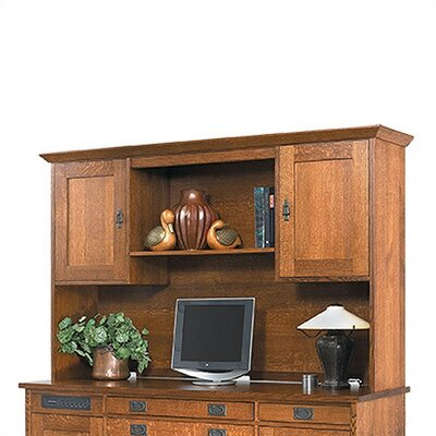 Office Credenza Desk Hutch picture