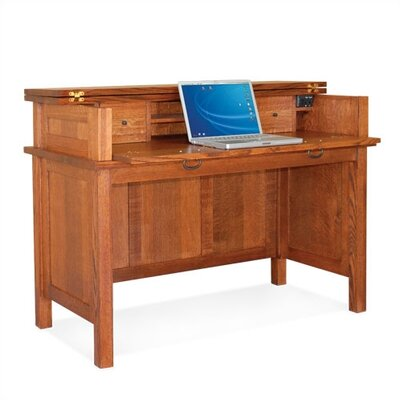 Craftsman Home Office 50.5 W Lift Top Laptop / Writing Desk Product Picture 18