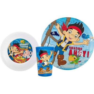 Zak! Jake and the Neverland Pirates 3 Piece Dinnerware Set at Sears.com