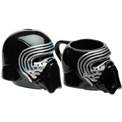 Star Wars Episode 7 Kylo Ren Sculpted Piggy Bank and Sculpture Coffee Mug Set SWRH-R660