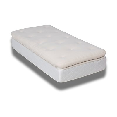 Barbados Deluxe Mattress Topper Size: King