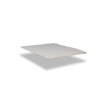 Serta Naturally Pure Cotton Mattress Topper Size: Queen