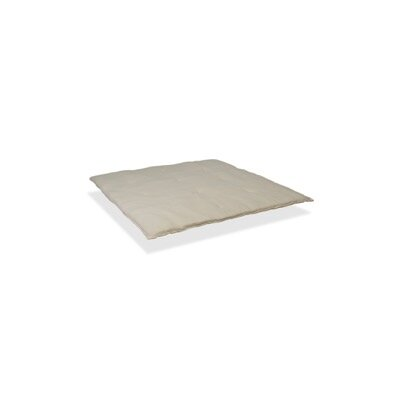 Serta Naturally Pure Wool Mattress Topper Size: Twin