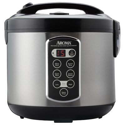 20 Cup Stainless Steel Rice Cooker ARC-2000ASB