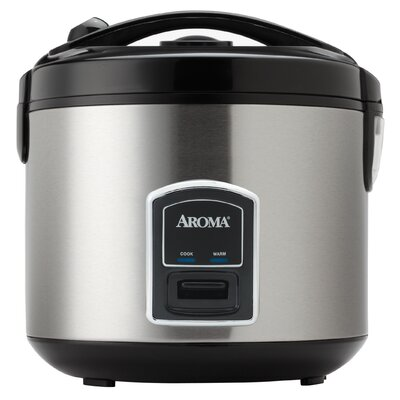 Professional 20-Cup Stainless Steel Rice Cooker and Food Steamer ARC-900SB