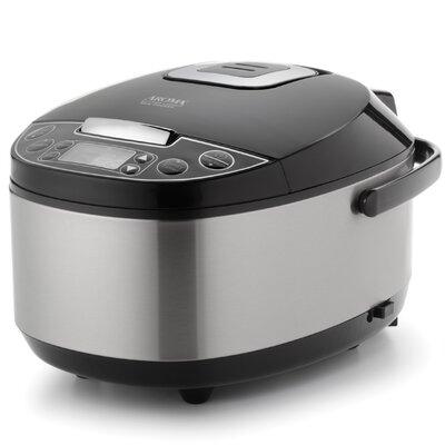12-Cup Egg Shape Digital Slow Cooker, Food Steamer and Rice Cooker ARC-616SB