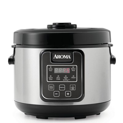 16-Cup Slow Cooker, Food Steamer and Rice Cooker ARC-1308SB