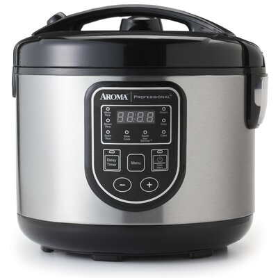 16-Cup Professional Digital Rice Cooker/Slow Cooker /Food Steamer 021241139984