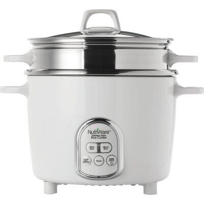 14-Cup NutriWare Digital Rice Cooker/Food Steamer 021241116879