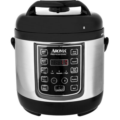 2.5 Qt. Professional Digital Electric Pressure Cooker APC-805SB