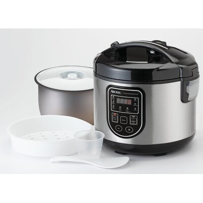 20-Cup Professional Digital Rice Cooker, Food Steamer and Slow Cooker ARC-980SB