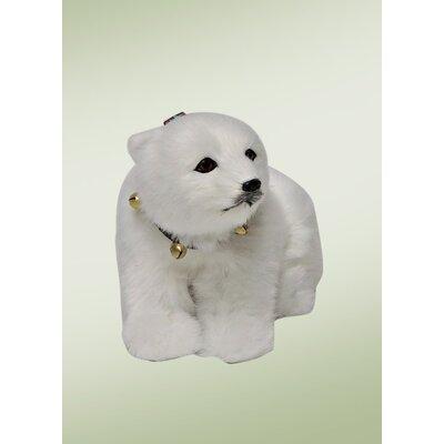 Carolers Seated Polar Bear Cub 6692