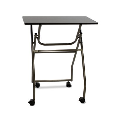 Folding Multipurpose Personal TV Tray Table Finish: Espresso/Grey