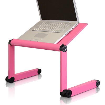 Standing Desk Conversion Unit Finish: Pink
