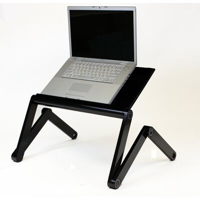 Standing Desk Conversion Unit Finish: Black
