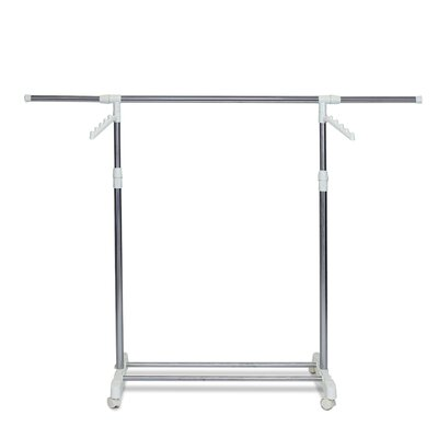 FURINNO Yijin Heavy Duty Single Level Retractable Rolling Drying Rack