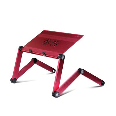 22.1 H x 22.1 W Standing Desk Conversion Unit Color: Pink