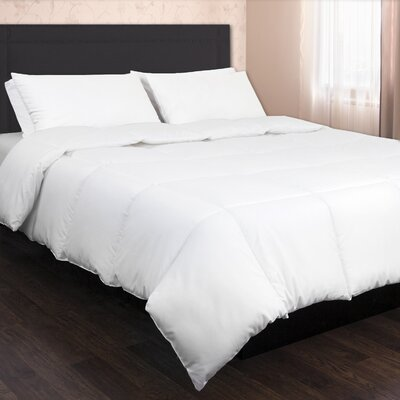 Angeland Ultra Soft Microfiber Goose Down Alternative Comforter Size: Full/Queen