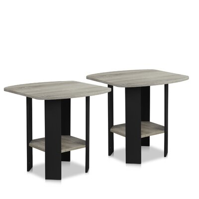 Simple End Table Color: Oak Gray
