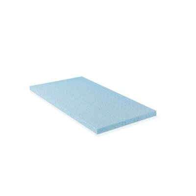 2 HD Gel-Infused Foam Mattress Topper Size: Twin
