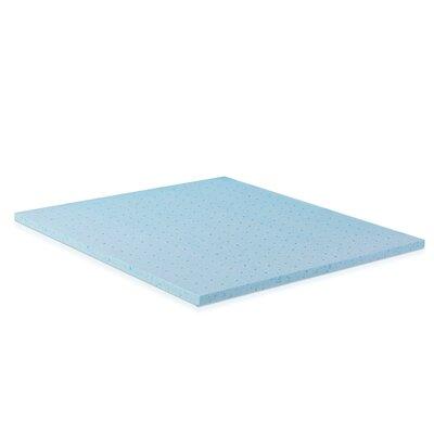 2 Gel Infused Foam Mattress Topper Size: Full