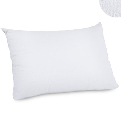 Angeland Terry Cloth Waterproof Pillow Protector Size: Queen