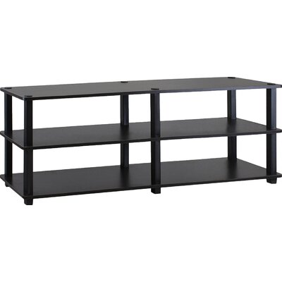 Furinno Turn-S-Tube 42 TV Stand Color: Espresso / Black