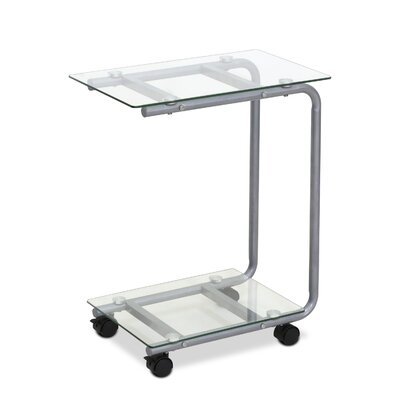 Kaca End Table Finish: Clear