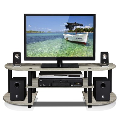 Tracy 47.25 TV Stand Color: French Oak Grey/Black