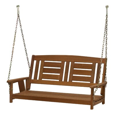Juna Hardwood Hanging Porch Swing