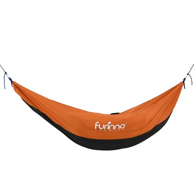 Alita Heavy Duty Tree Hammock Color: Black/Orange