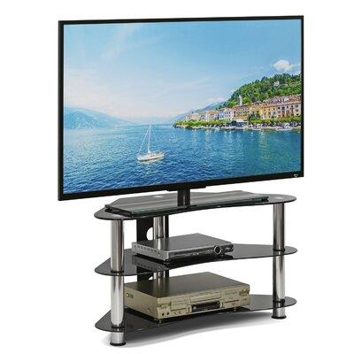 Dix Silk Screen Glass Corner 35.43 TV Stand