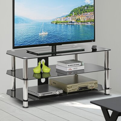 Dionte Silk Screen Glass 47.24 TV Stand