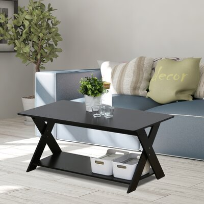 Arthurs Modern Simplistic Criss-Crossed Coffee Table
