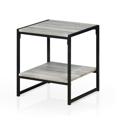 Andresen Modern 2-Tier End Table Color: Dark Oak