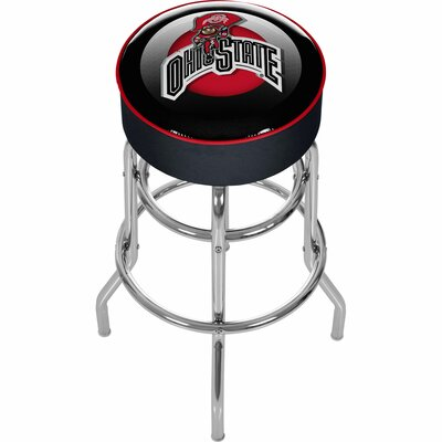 NCAA 31 Swivel Bar Stool NCAA Team: Ohio State University - Faded Brutus