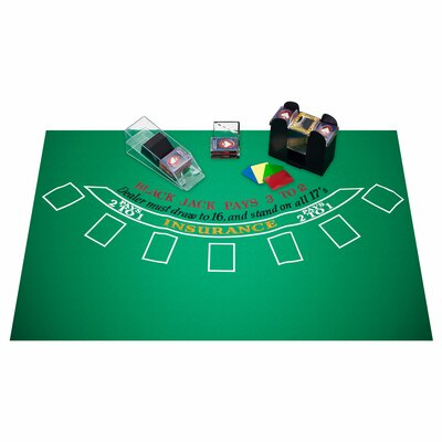 Trademark Commerce 10-ACCBJSET Blackjack Accessories Set