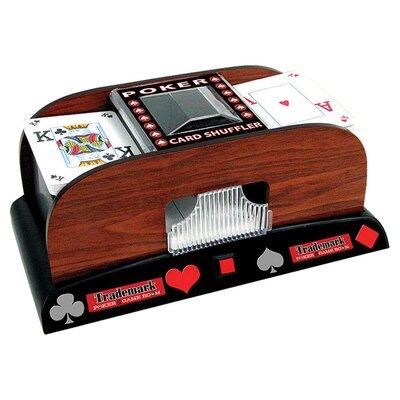 Trademark Poker Wooden Card Shuffler 10-1459