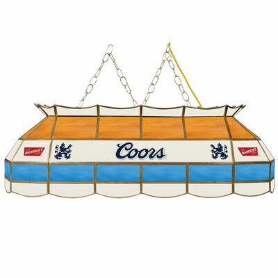 Coors Banquet 3-Light Pool Table Light