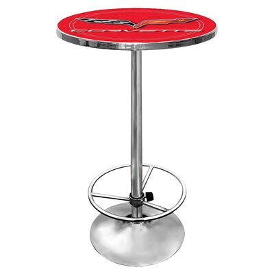 Corvette C6 Pub Table Color: Red