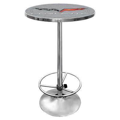 Corvette C6 Pub Table Finish: Silver