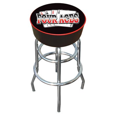 Four Aces 31 Swivel Bar Stool