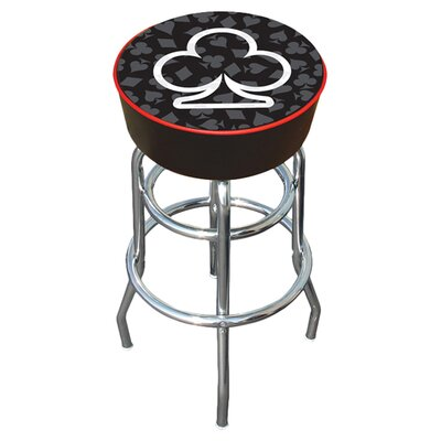 Four Aces Swivel Bar Stool