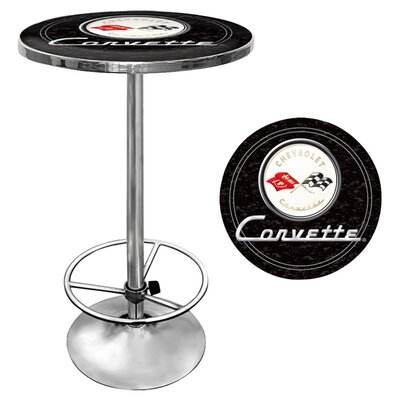 Corvette C1 Pub Table Finish: Black