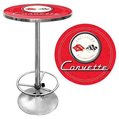 Corvette C1 Pub Table Color: Red