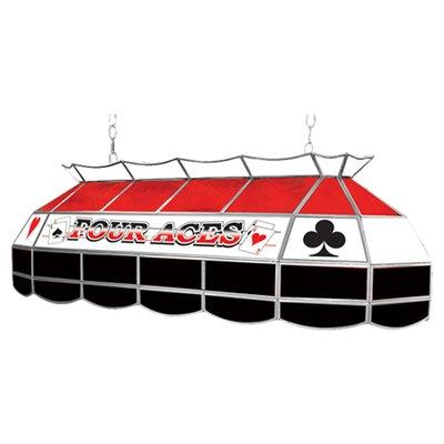 Four Aces 3-Light Pool Table Light