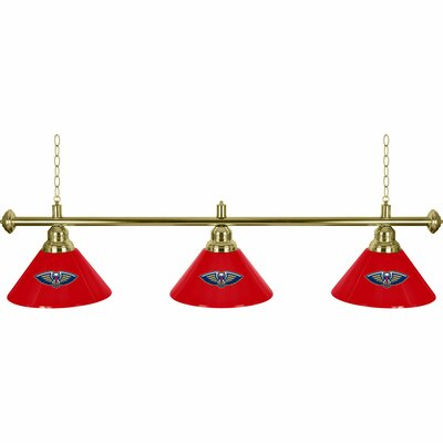 NBA 3-Light Billiard Light NBA Team: New Orleans Pelicans