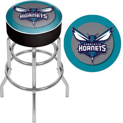 31 Swivel Bar Stool NBA Team: Charlotte Hornets