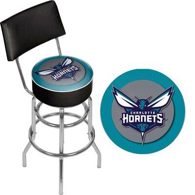 31 Swivel Bar Stool NBA Team: Charlotte Hornets